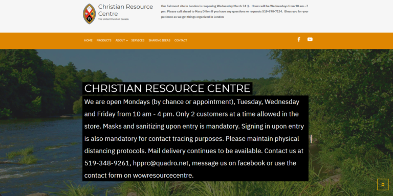 New Hours for Christian Resource Centre
